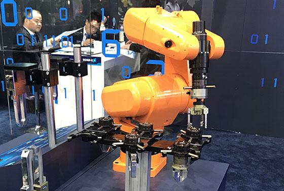 机器人手抓